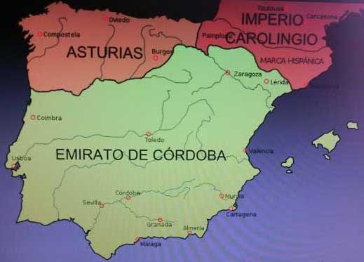 Resultado de imagen de reino de asturias mapa
