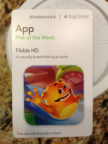 Starbucks iTunes Pick of the Week - Fibble HD