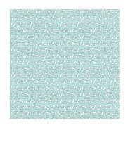 7x7 inch SQ JPG white typography numbers on light turquoise SMALL SCALE