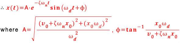 기계 진동 9. 1자유도 감쇠 시스템의 응답(2) - 일반감쇠운동의 ...