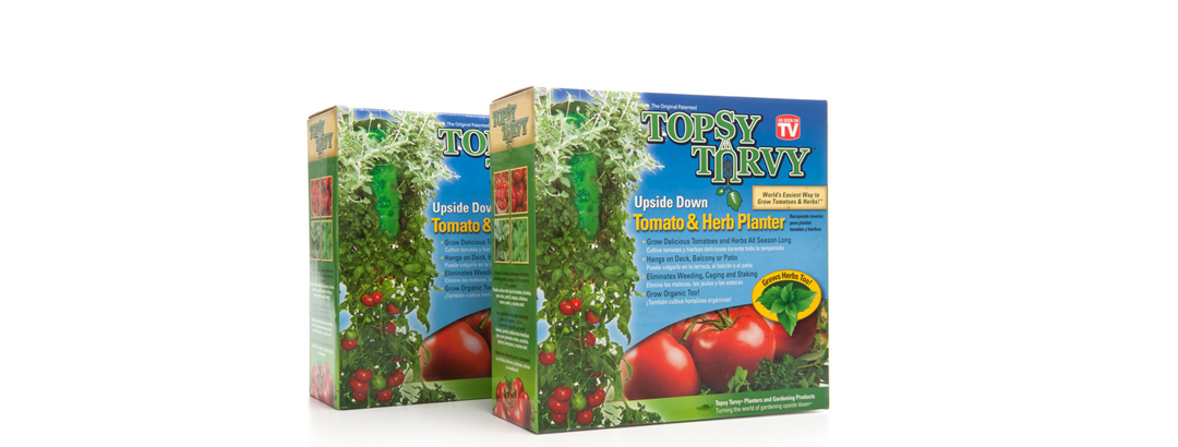 Topsy Tomato & Herb Planter 2PK