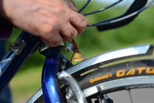 Malachi O'Doherty and His Touring Bike