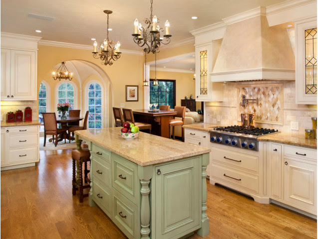 Spanish Revival Restoration - Mediterranean - Kitchen - San Francisco - by AND Interior Design ...