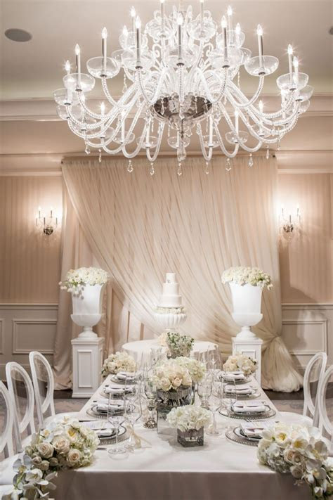 Elegant White Wedding at St. Regis Atlanta in Atlanta, GA