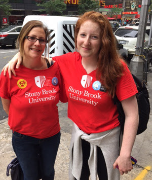 Heidi and Olivia at the People's Climate March