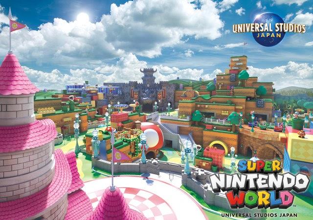 Super Nintendo World Akan Membatasi Jumlah Pengunjung! oleh - gamesupermario.xyz