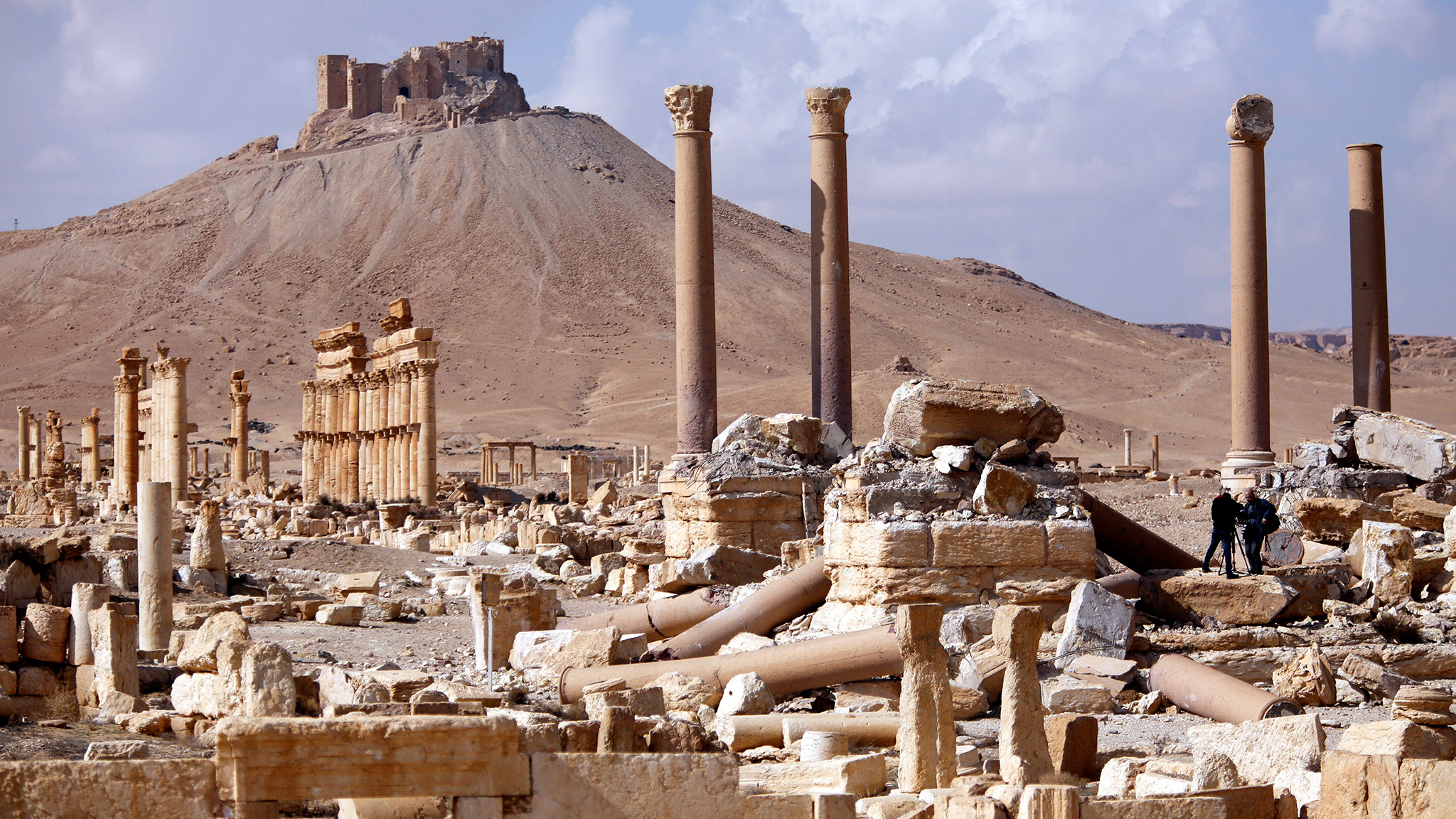 Image result for assad is a long way from victory in syria reuters palmyra