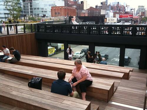 High Line Park amphitheater