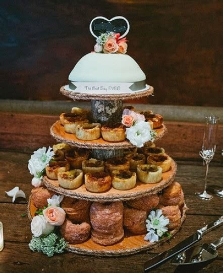 Rustic Cupcake Stand Wood 4 Tier Log Wedding   Tradesy