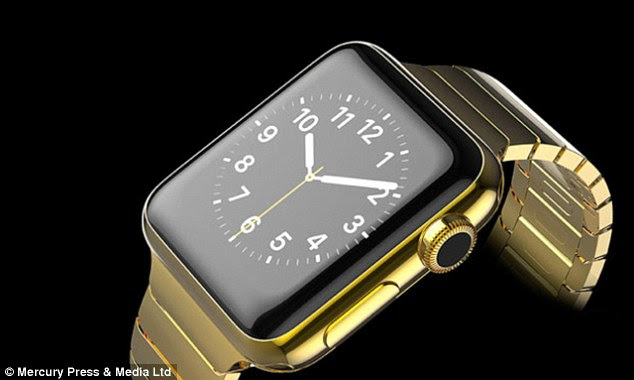 The limited edition Apple Watch is available in 24 karat gold, rose gold or platinum. The watch is also adorned with a one carat diamond plus hundreds of other smaller diamonds in the strap, if you choose
