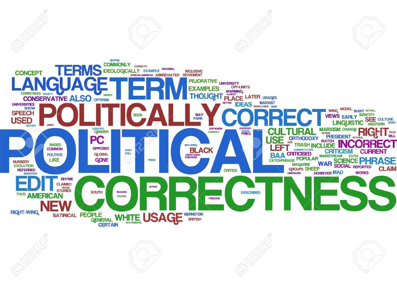 Risultati immagini per politically correct