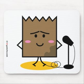 Soggy Lunch Bag Mousepad mousepad