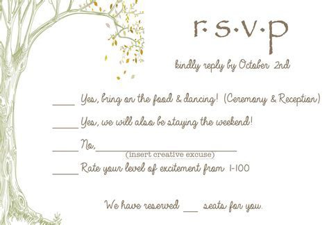 These RSVP cards are pretty, and the design made me think