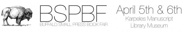 2013 Buffalo Small Press Book Fair