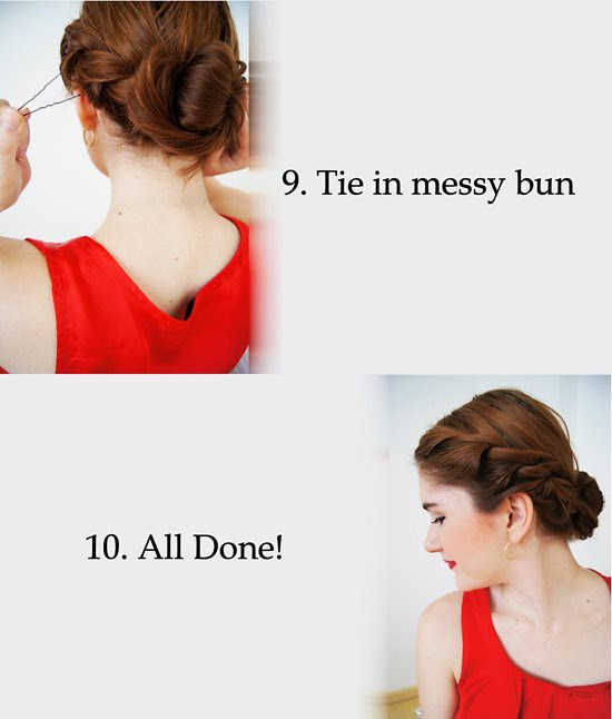 Twisty Updo - Part 4