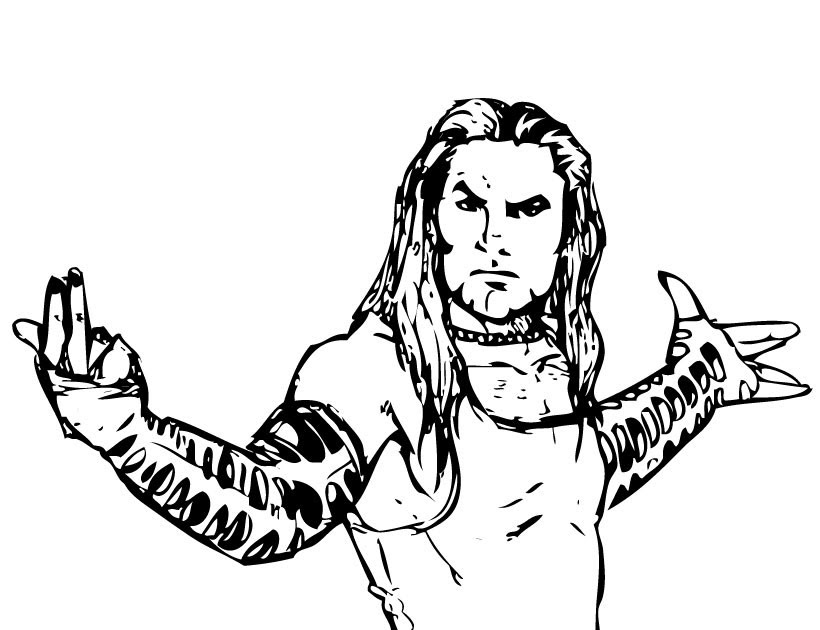 Wwe Logo Coloring Pages Fun Images