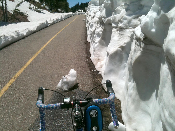 Bike Path Iceberg