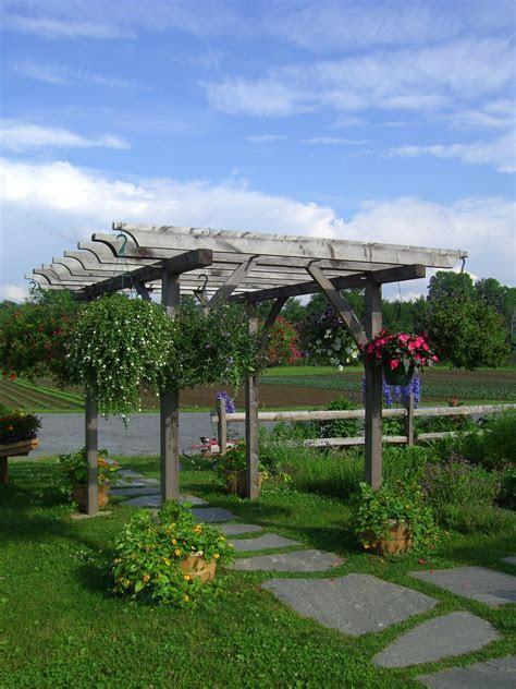 Timber Pergolas and Timber Frame Arbors