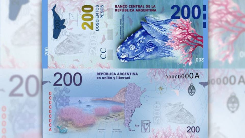 El nuevo billete de $200 BCRA