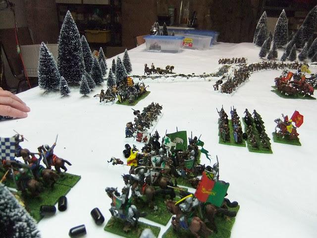 Viking left gets overrun