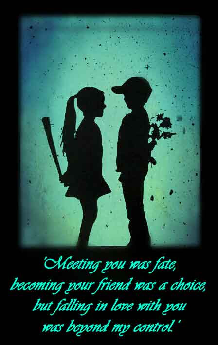 Meeting You Met Fate Love Quote Quotespicturescom