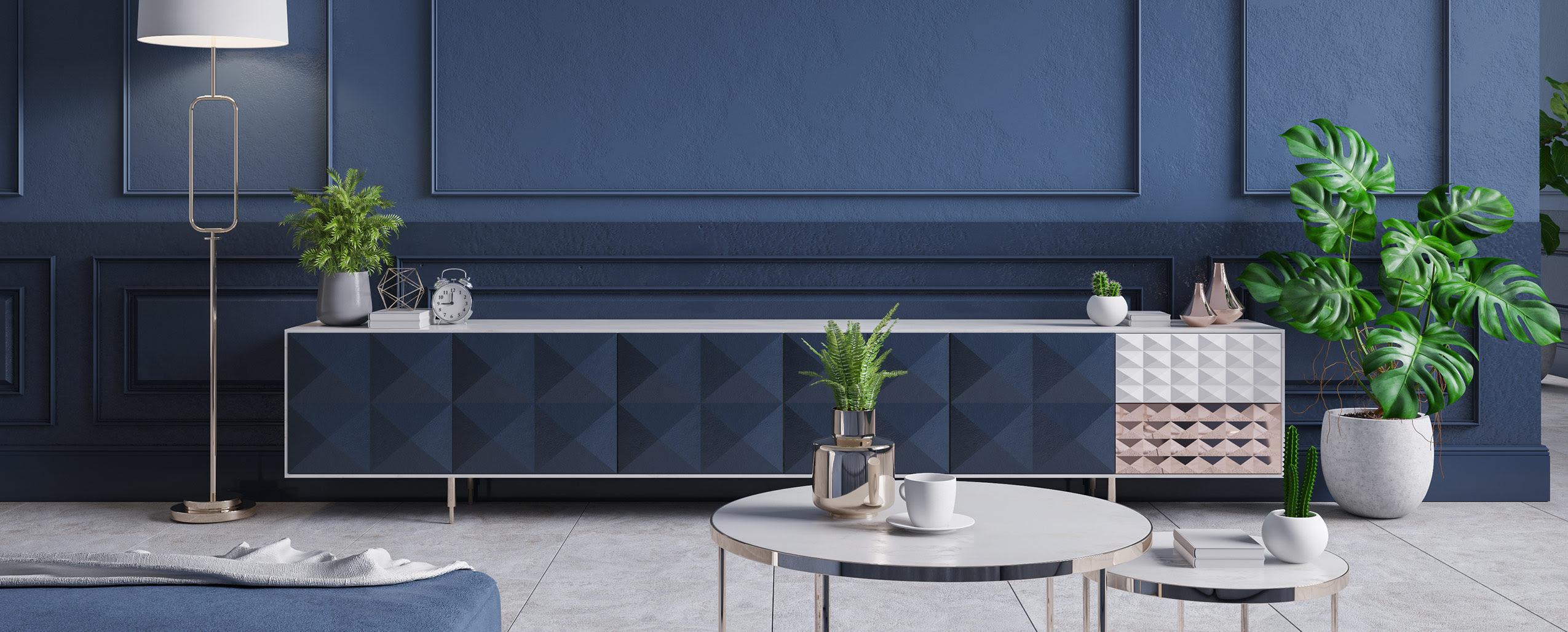 Minimalist Art Deco Modern Interior Design Inspiration Strada London