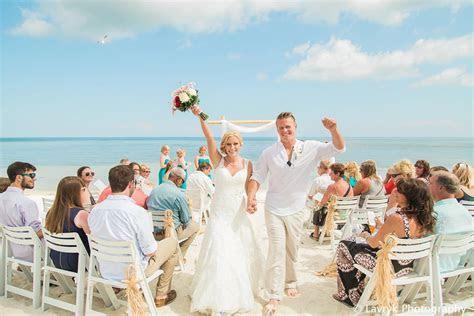 Wedding ceremony on Smathers Beach Key West Sheraton