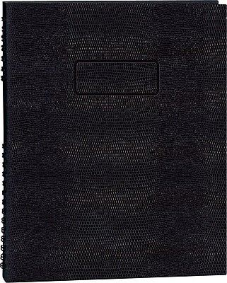 """Blueline® Note Pro® Undated Daily Planner, 8-1/2"""" x 11"""" 