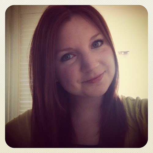 The only time my hair is straight is after going to the salon. #redhead