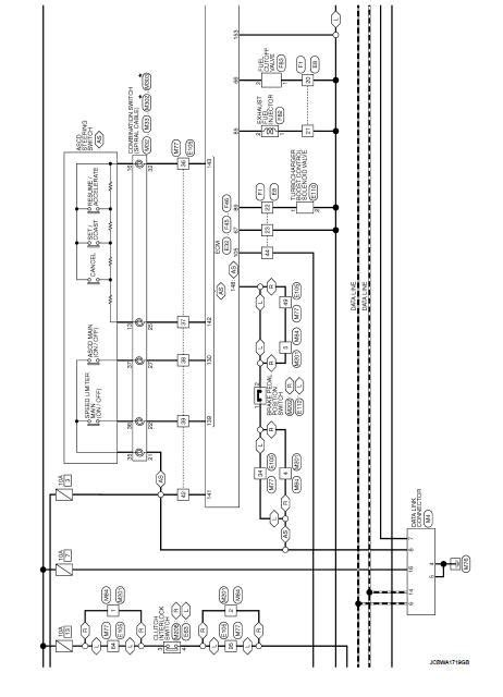Wiring diagram - Engine Control System K9K - Nissan Juke