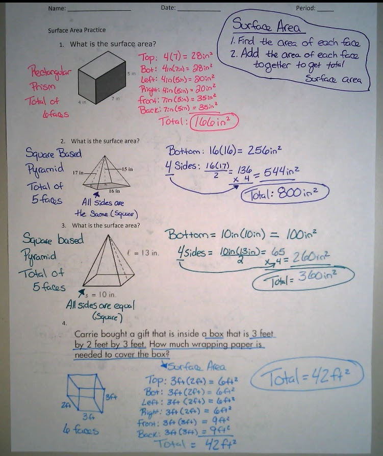Unit Surface Area Homework 2 Answers - Olympc