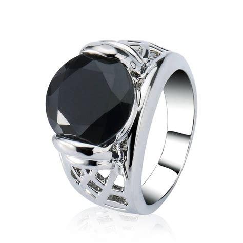 obsidian wedding bands