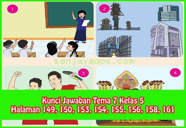 Kunci Jawaban Buku Senang Belajar Matematika Kelas 5 Halaman 155