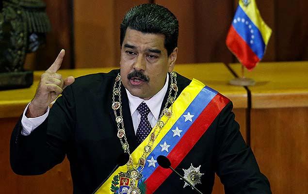 Presidente da Venezuela, Nicolás Maduro, apresenta o relatório anual de governo no TSJ