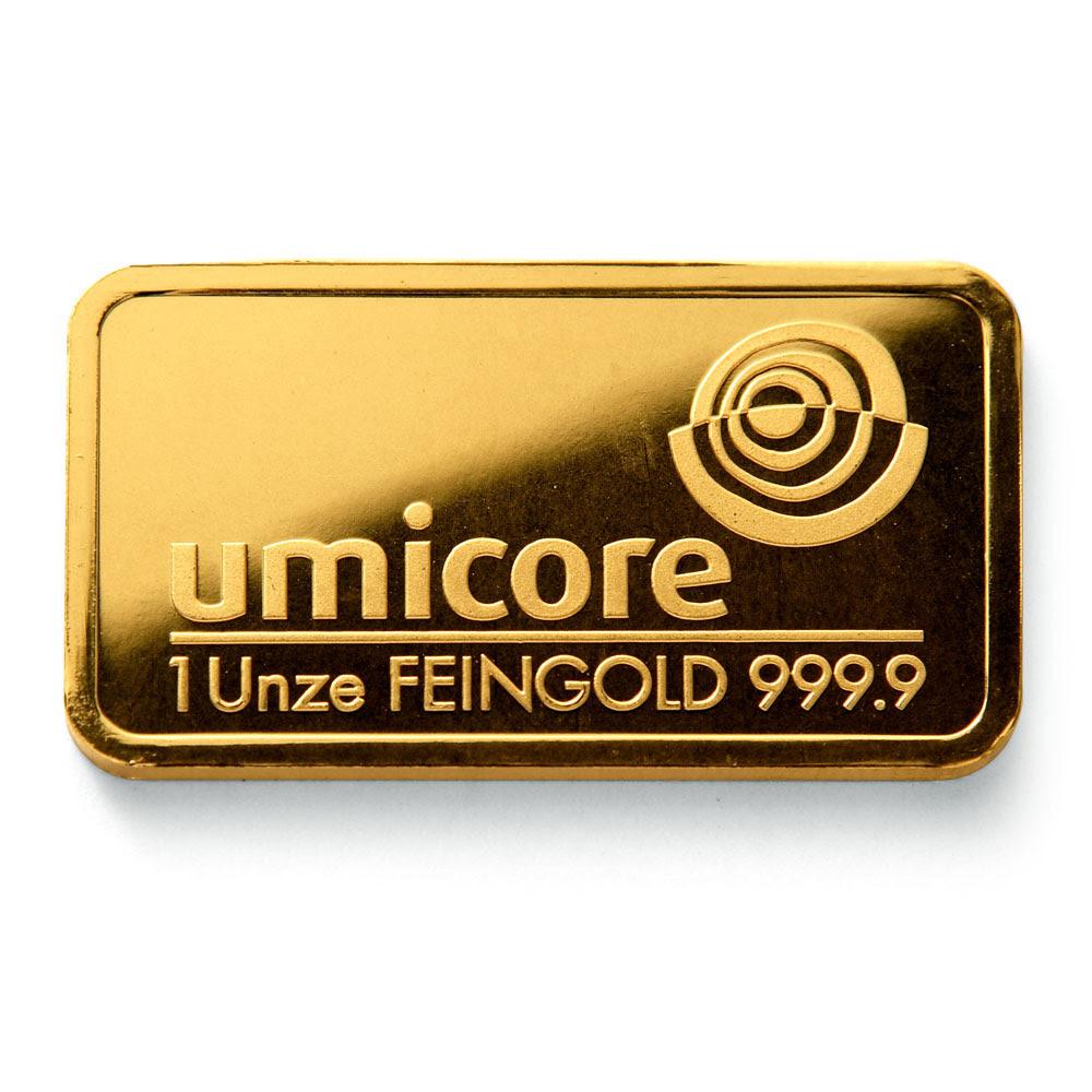 1 oz Gold Bullion Bar images