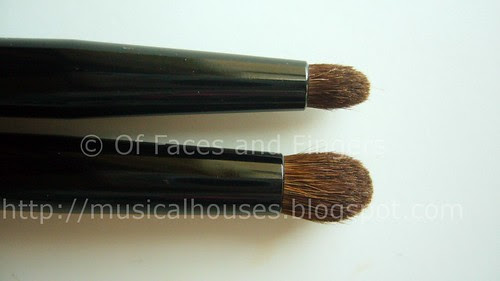 essence beauty crease brush duo 2