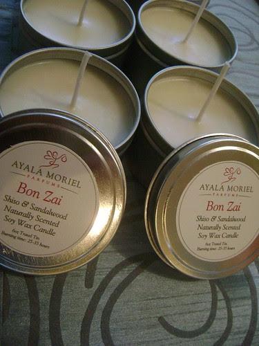 Bon Zai travel tins in the making