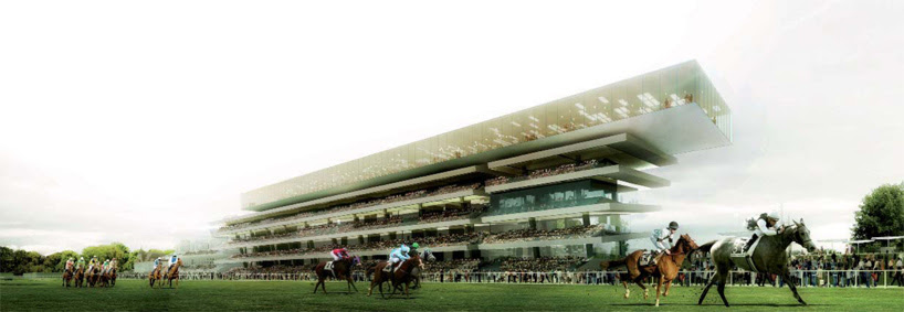 dominique perrault: new longchamp racecourse