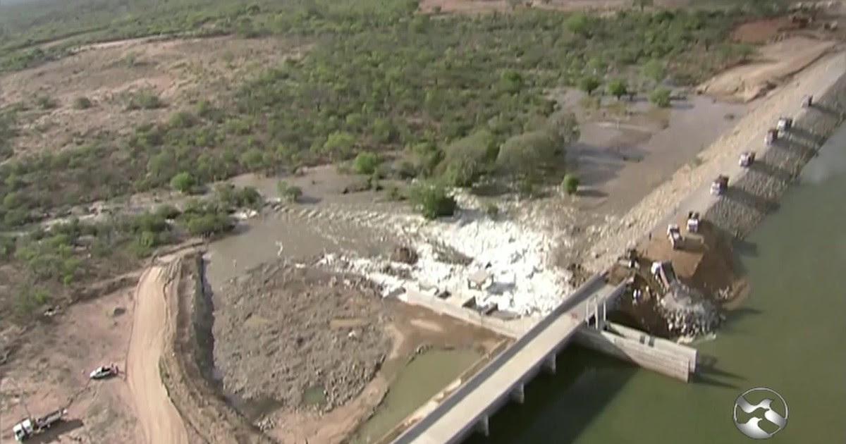 Resultado de imagem para ocorreu o vazamento do reservatório Barreiro