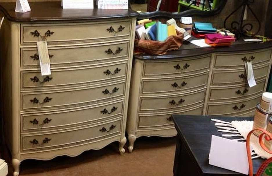 Painted Furniture - Curvy Dressers - American Paint Company