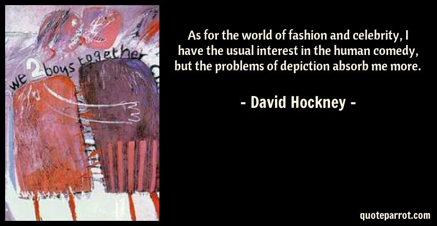 As For The World Of Fashion And Celebrity I Have The U By David