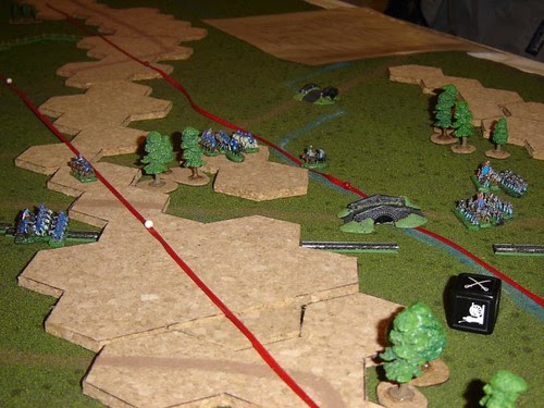 Buford pounces on Heth's Brigade