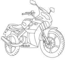 Dibujos Para Colorear Modelo Moto Deportiva Eshellokidscom