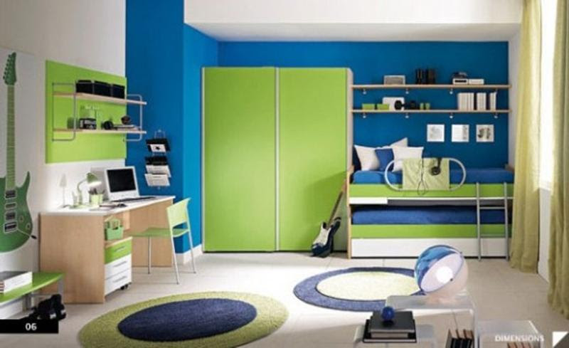 15 Cool Blue And Green Boys Bedroom Design Ideas Rilane