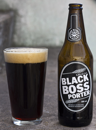 Review: Black Boss Porter (Browar Witnica) by Cody La Bière