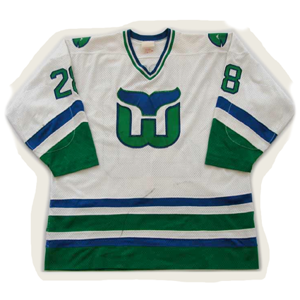 Hartford Whalers 82-83 jersey