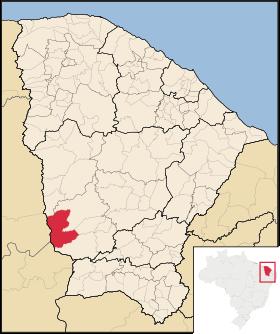 Localização de Parambu