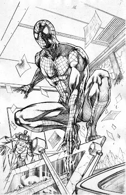 Secret Invasion: Spider-Man by Marco Santucci