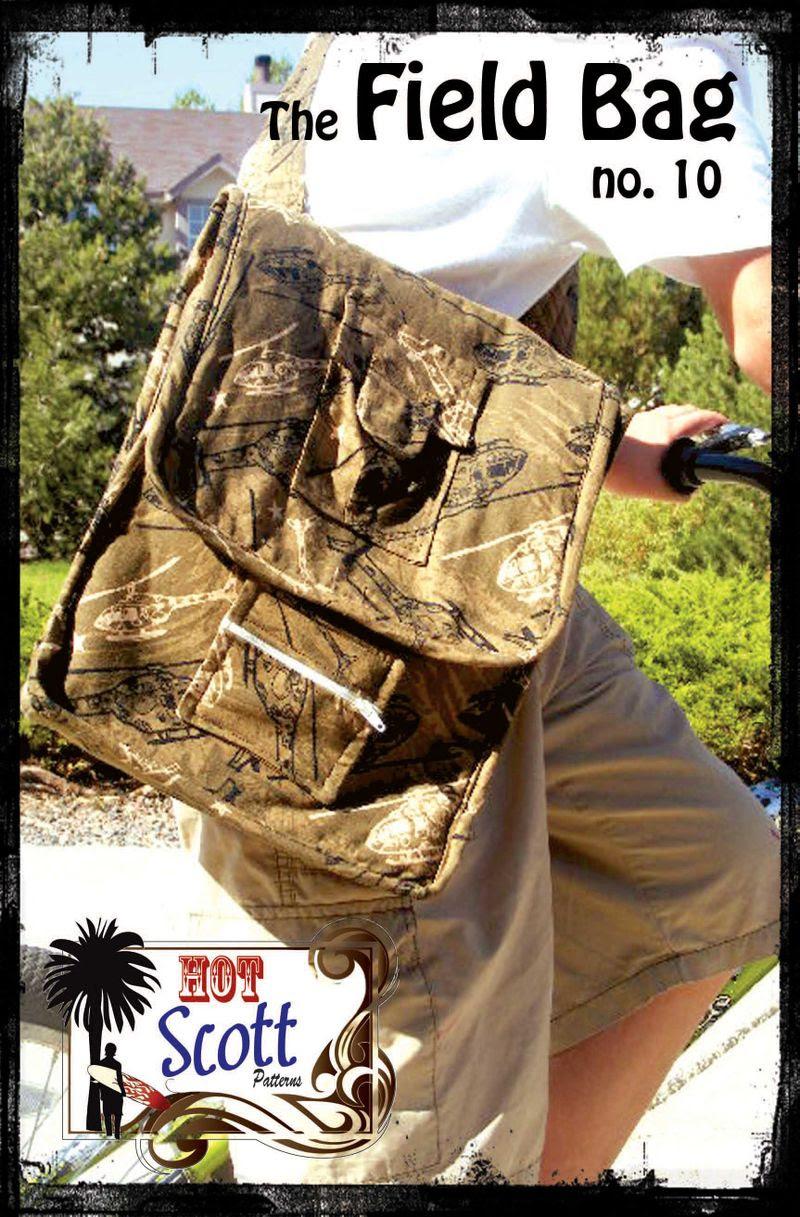 Field Bag Pattern Coverrgb