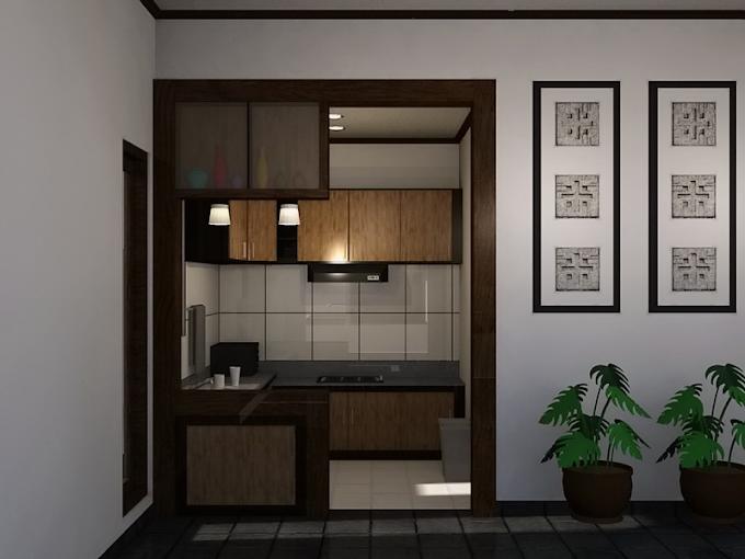 Interior Dapur Kecil Rapi | Ide Rumah Minimalis